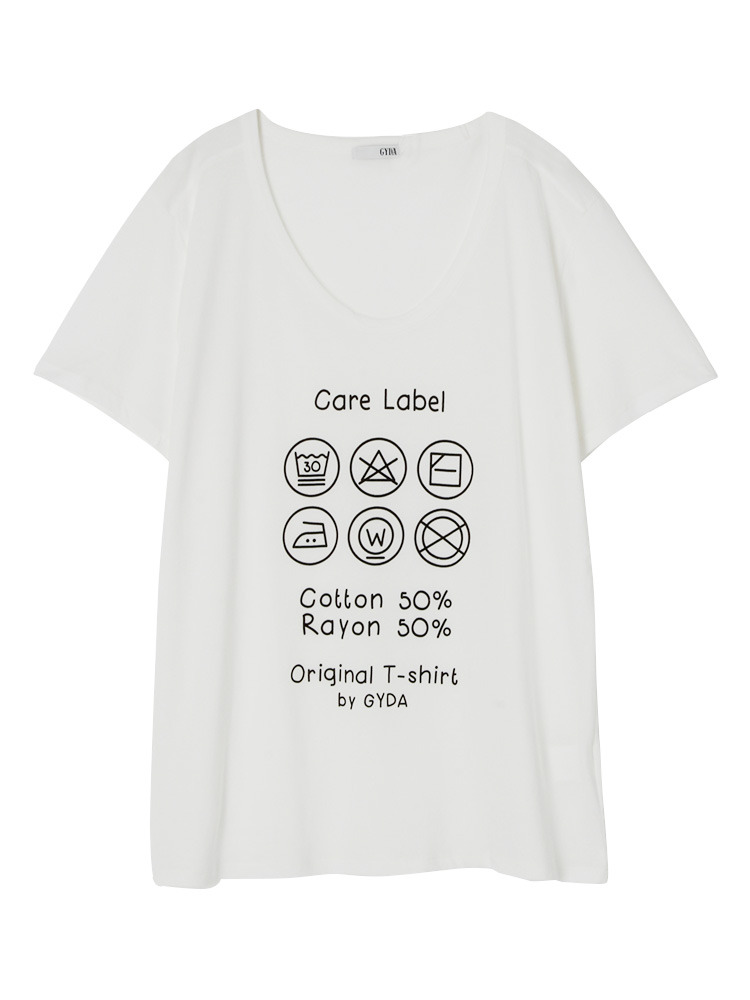CARE LABEL Tシャツ