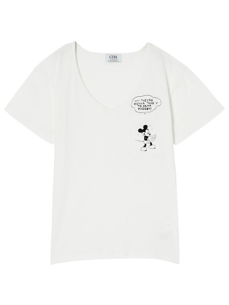 POKET MICKEY Tシャツ